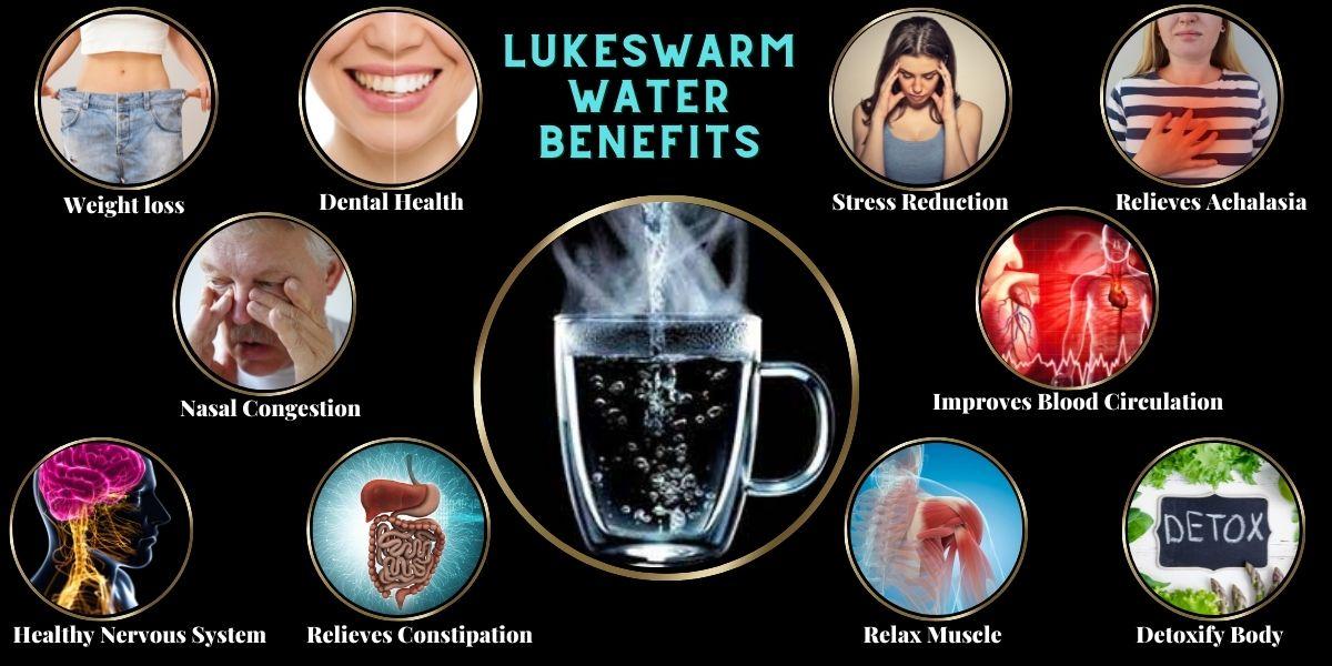 Lukewarm water